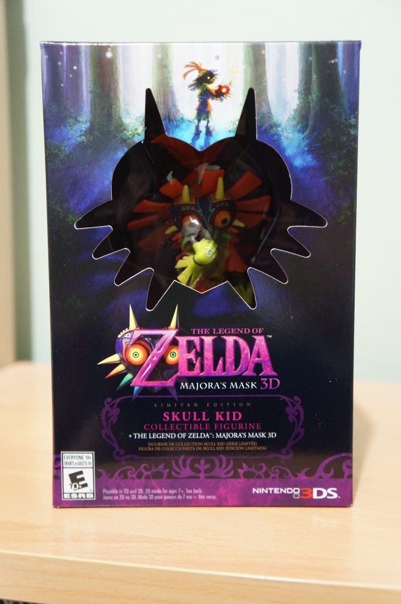 Illustration for article titled Majora's Mask LE (NA) Unboxing