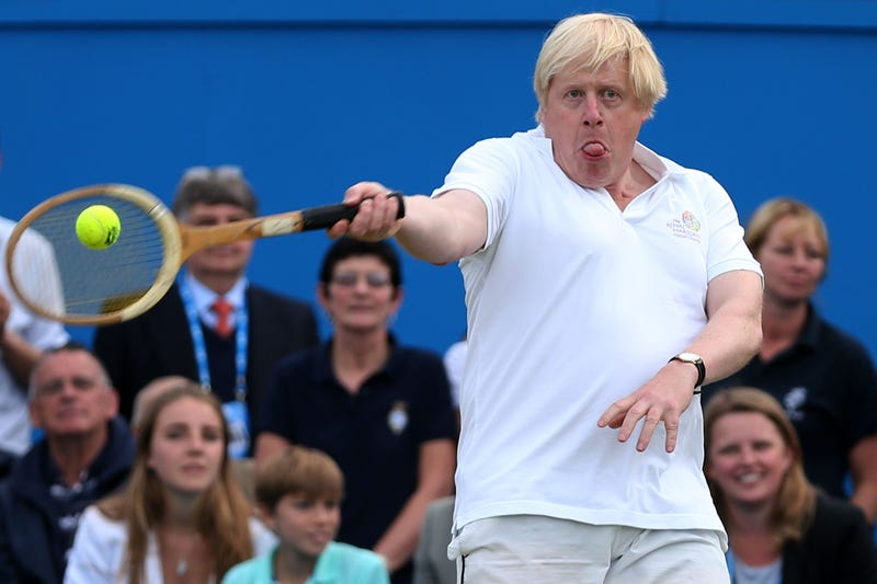 Illustration for article titled Here's The UK's Next Prime Minister Boris Johnson Doing Sports