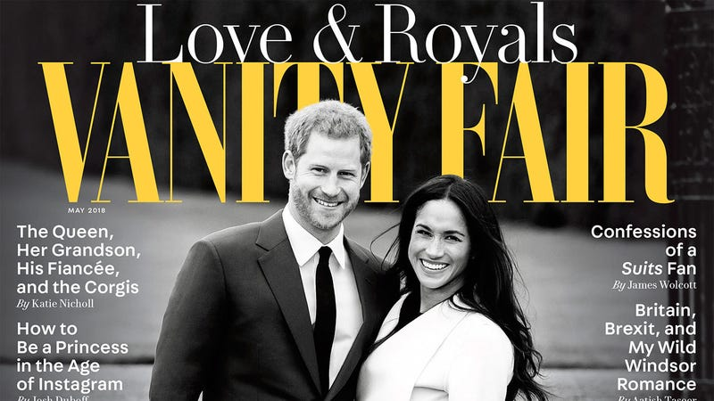 Illustration for article titled Vanity Fair Gonna Vanity Fair: It's the Royal Wedding Issue!