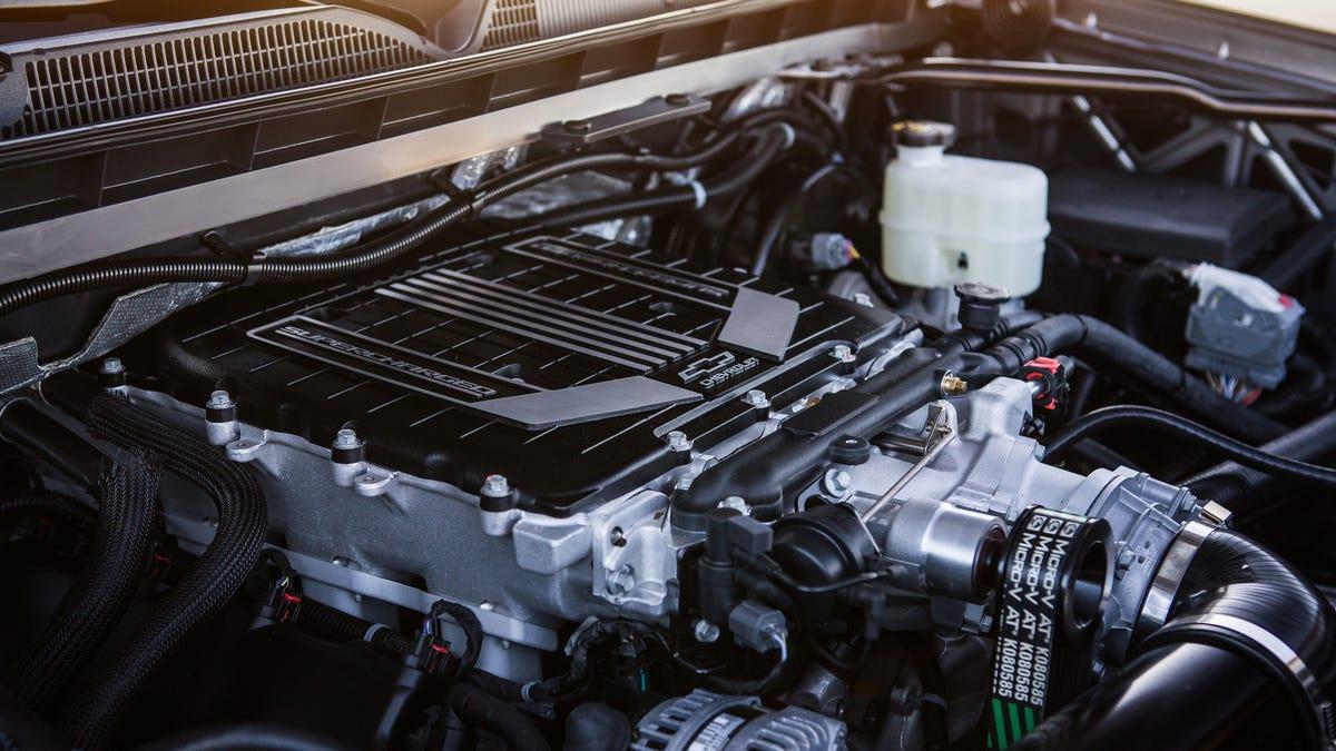 The 2018 Chevy Silverado Performance Concept Has A Battle