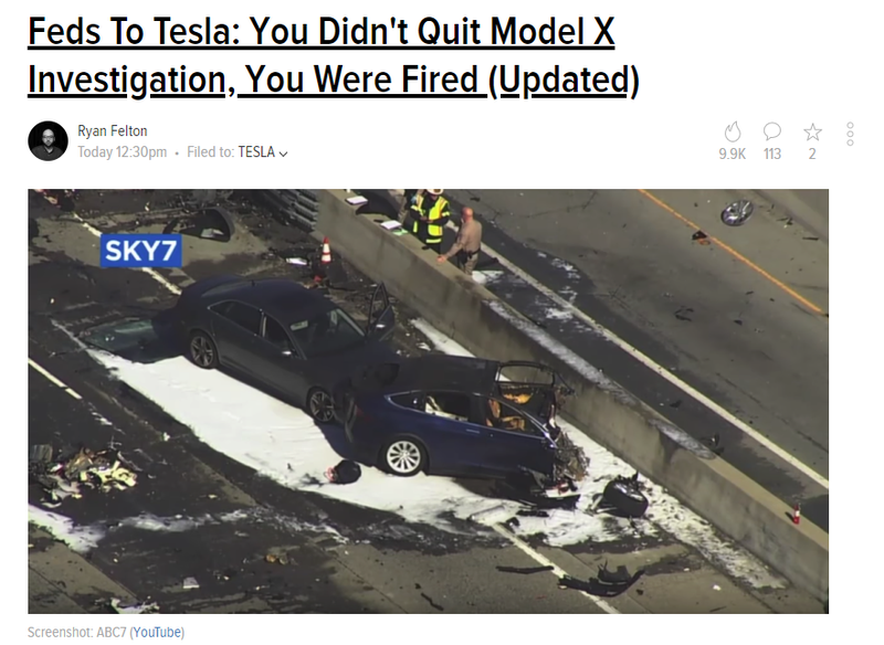 Illustration for article titled So This is Bad for Tesla