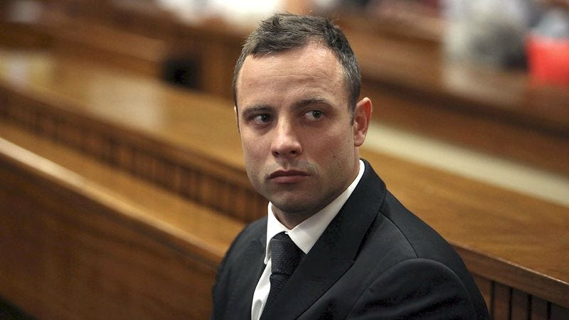 Illustration for article titled Paranoid Oscar Pistorius Still Thinks Burglar After Him