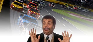 Illustration for article titled Here's The Science Behind Neil DeGrasse Tyson's NASCAR Screwup
