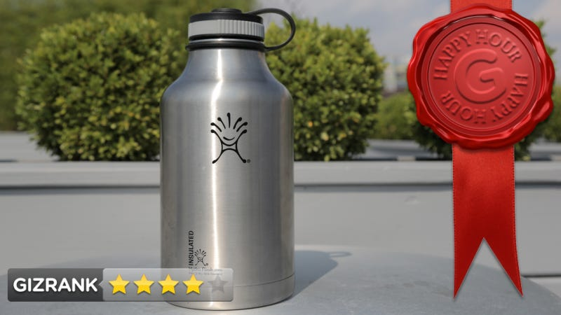 Illustration for article titled Hydro Flask Vacuum Insulated Steel Growler Review: Big. Cold. Beer.