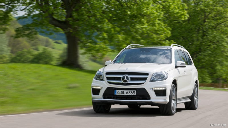 Illustration for article titled The Mercedes GL63 AMG Is A Ridiculous Car, But I Still Like It