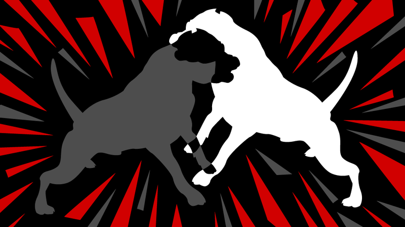 Illustration for article titled Leroy's Revenge: Two Dogs, Father And Son, Fight To The Death