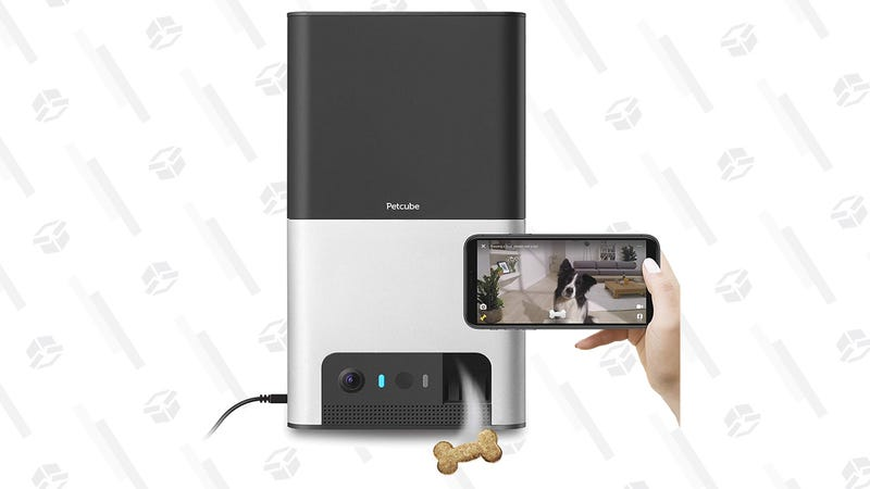 Petcube Bites 2 Smart Camera for Pets with Treat Dispenser