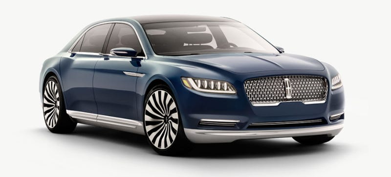 2016 Lincoln Continental Concept: This Is It