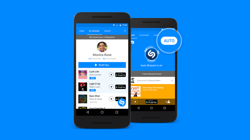 Illustration for article titled Shazam Can Now Automatically Identify Songs in the Background