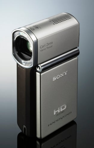 """Illustration for article titled Sony HDR-TG1 Handycam Is World's Smallest """"Full HD"""" Camcorder"""
