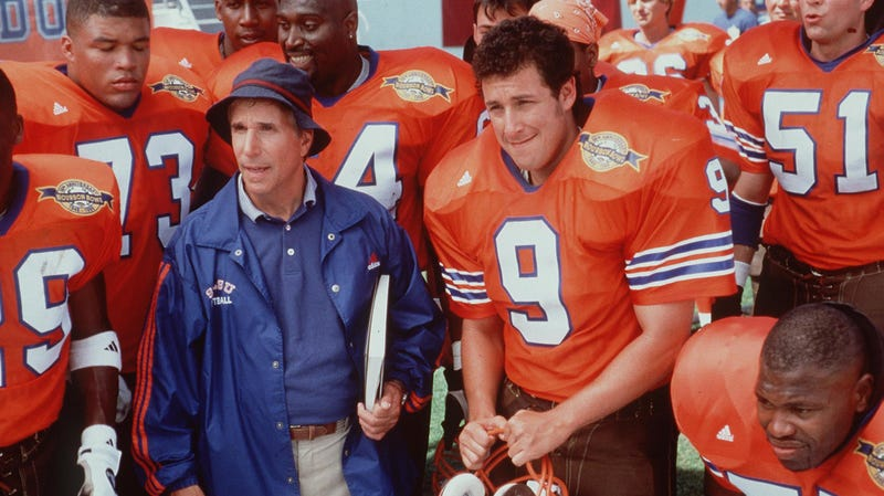 Illustration for article titled The Waterboy succeeded by inverting Adam Sandler's established formula