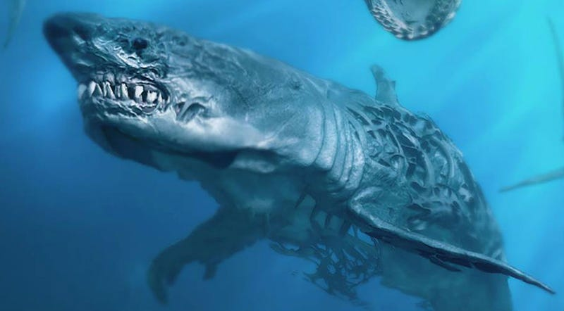 The Fifth Pirates of the Caribbean Movie Has Ghost Sharks In It
