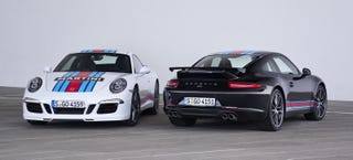 Illustration for article titled Sweet Merciful Crap: Porsche Is Building A Martini-Liveried 911