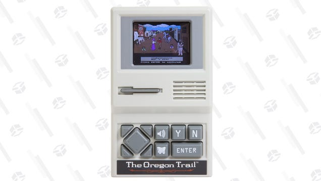 Relive Everyone s Favorite Traumatic Gaming Experience With This $10 Oregon Trail Handheld
