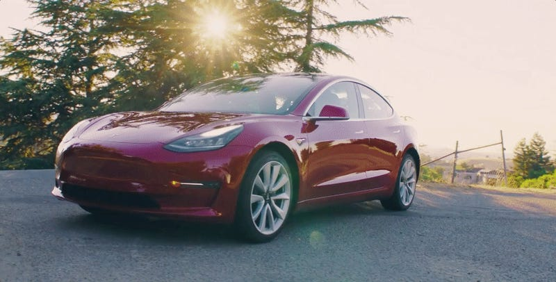 Tesla Model 3 Long-Range Trim Will Go 310 Miles On A Charge