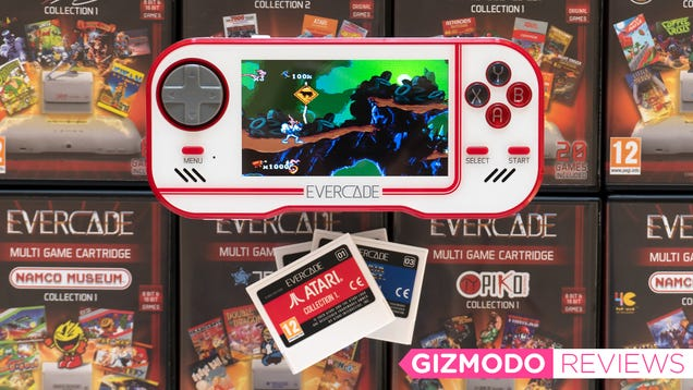 The Evercade Simplifies Retro Gaming and I m Surprised How Much I Love It