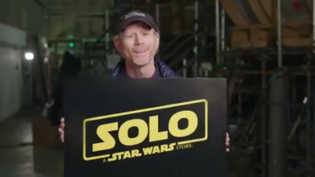 It is with a heavy heart that we report some dissatisfaction with the movie title Solo