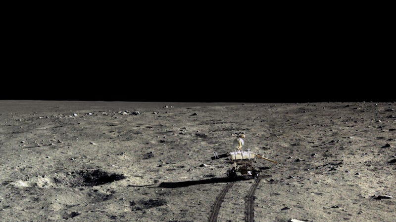 Yutu in happier days, as captured by the Chang'e 3 lander (Image: Chinese Academy of Sciences / China National Space Administration / The Science and Application Center for Moon and Deepspace Exploration / Emily Lakdawalla)