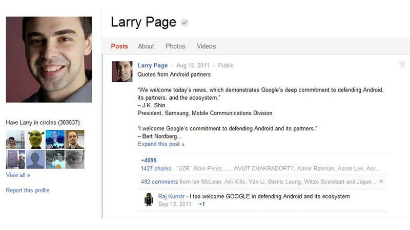 Illustration for article titled Does Google's Own CEO Even Use Google+ Anymore?