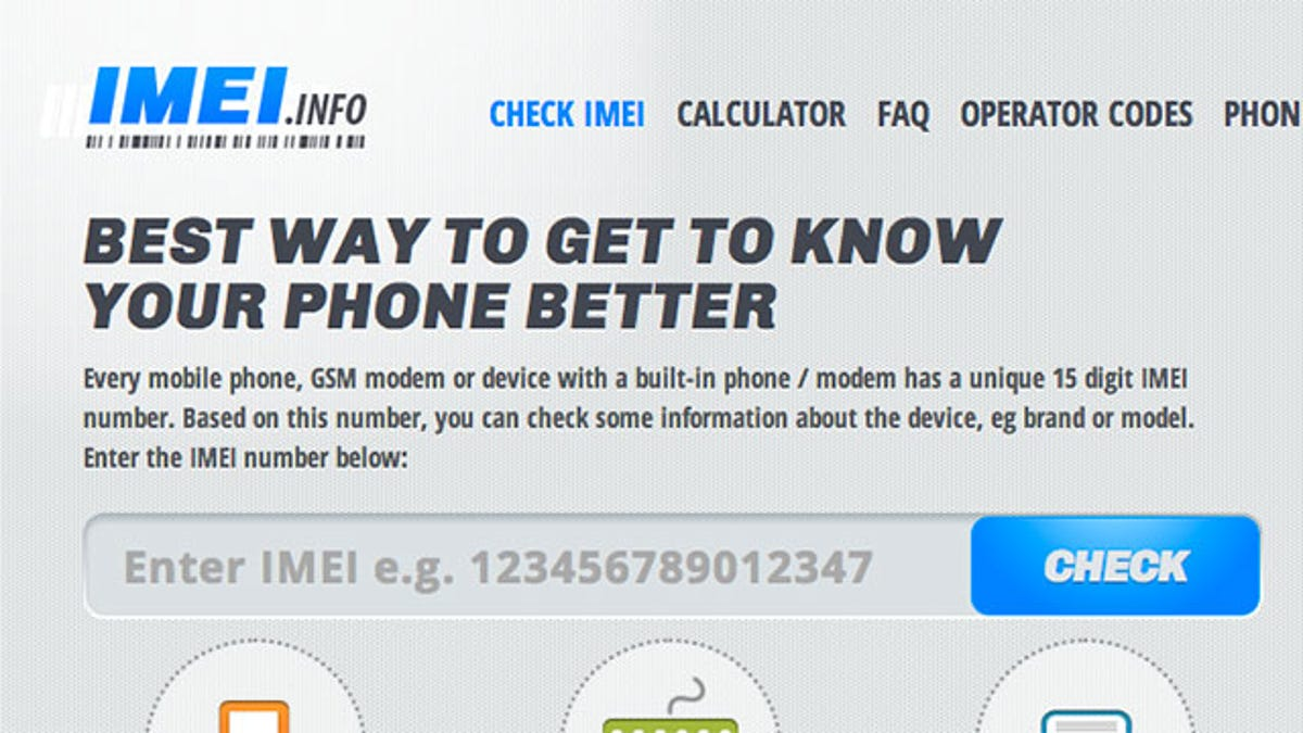 IMEI info Checks If Your Phone Is Carrier Unlocked (or Not)