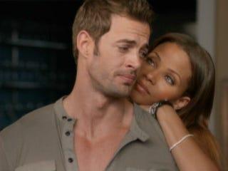 Raquel (Denise Vasi) and Antonio (William Levy) (VH1)