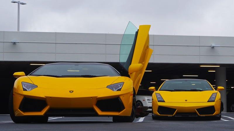 ... Took Over A Garage To Welcome The $1.9 Million Lamborghini Centenario