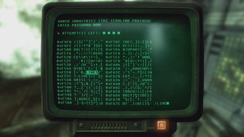 Illustration for article titled CNN Shows Fallout Computer Terminal In A Video About Russian Hacking