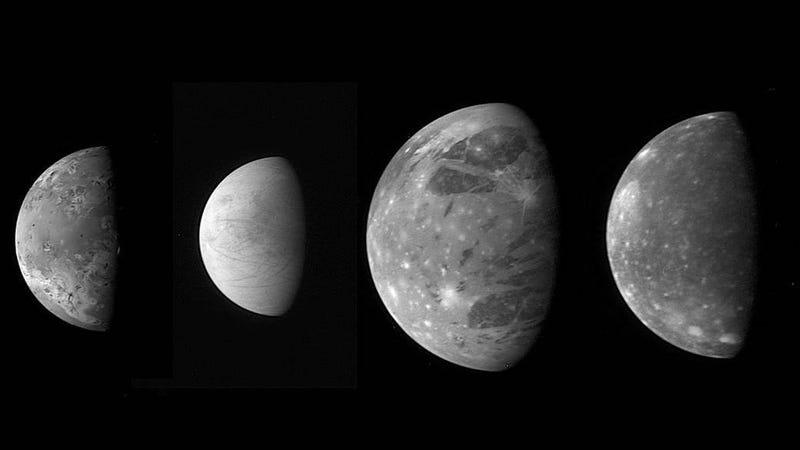 Jupiter's moons.