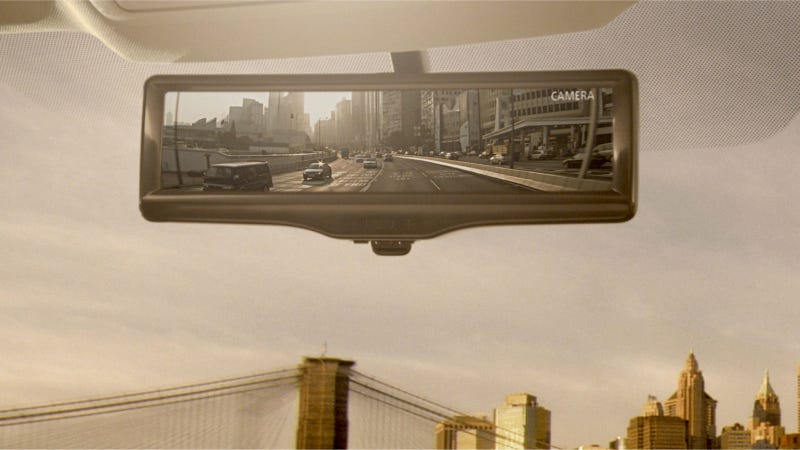 Illustration for article titled This Is The Rearview Mirror Of The Future