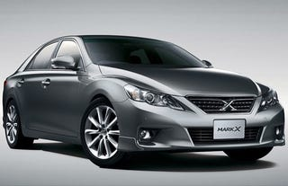 Illustration for article titled 2010 Toyota Mark X Is The Aggressive GS We Don't Get
