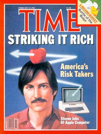 Illustration for article titled Steve Jobs Magazine Covers Through The Ages