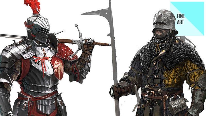 Illustration for article titled The Manly Video Game Art of Ville-Valtteri Kinnunen