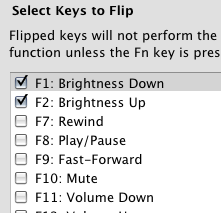 Illustration for article titled FunctionFlip Customizes Function Keys One By One