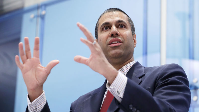 FCC chairman Ajit Pai (Chip Somodevilla / Getty)