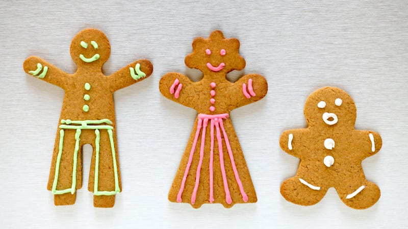 Illustration for article titled Pret A Manger introduces genderless gingerbread human-shaped object