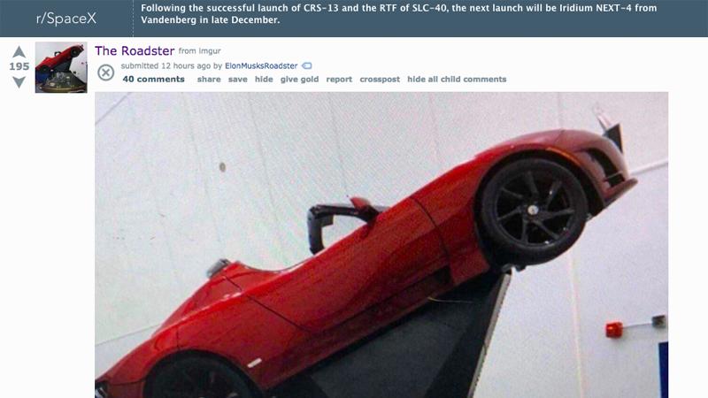 Screenshot: Reddit