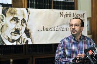 Illustration for article titled A holokauszt-emlékévbe is beszáll a Nyirő-temetés szervezője