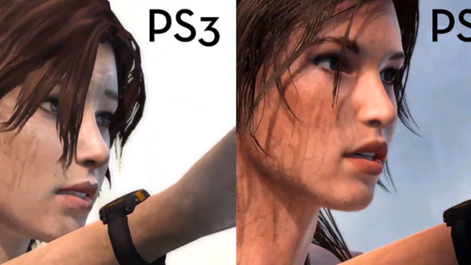 """Tomb Raider en PS3 vs PS4: así son los gráficos de """"nueva generación"""""""