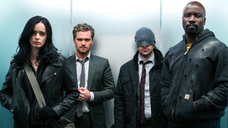 The Defenders: Refreshingly not weird when they began, and not nearly weird enough by their end.