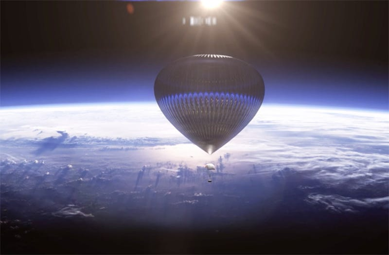 Illustration for article titled Would You Pay  $75,000 to Ride This Spectacular Balloon to Space?