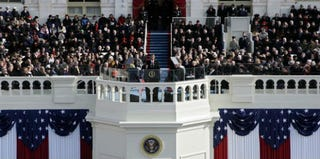 The 2009 inauguration of President Barack Obama (Alex Wong/Getty Images News)