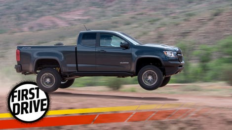 The 2017 Chevrolet Colorado Zr2 Can Fly