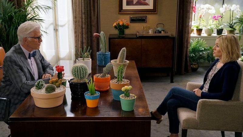 Ted Danson, Kristen Bell (Photo: Chris Haston/NBC)