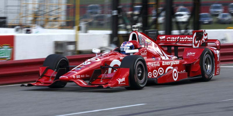 Illustration for article titled Unstoppable Scott Dixon Shatters 15-Year-Old Lap Record At Mid-Ohio