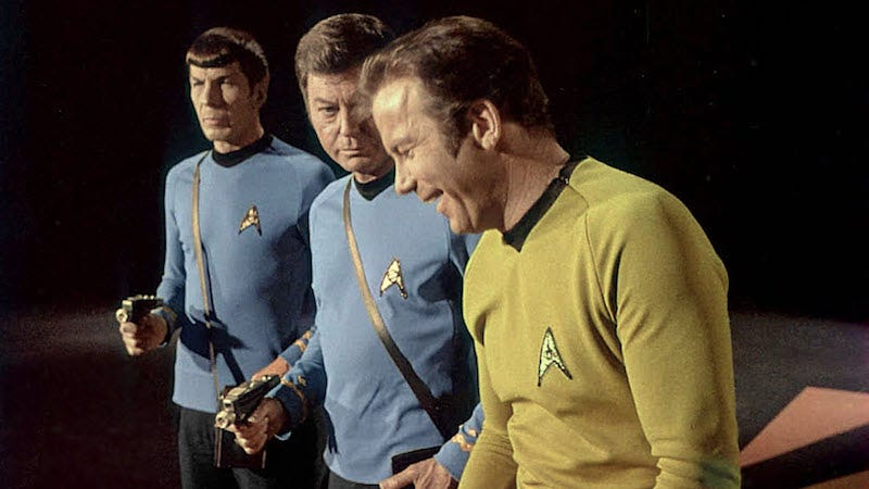 All images from To Boldly Go: Rare Photos from the TOS Soundstage