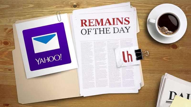 Illustration for article titled Remains of the Day: Yahoo Mail Gets Caller ID