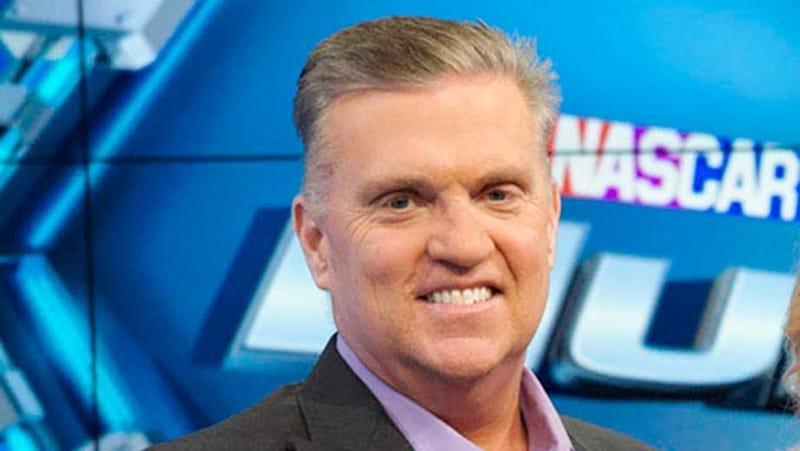 Illustration for article titled NASCAR Commentator Steve Byrnes Has Died Of Cancer At 56