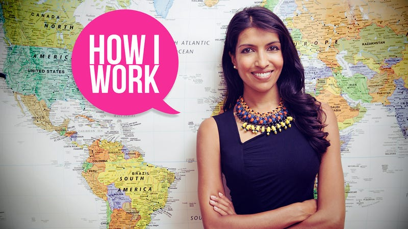 Illustration for article titled I'm Leila Janah, Social Entrepreneur, and This Is How I Work