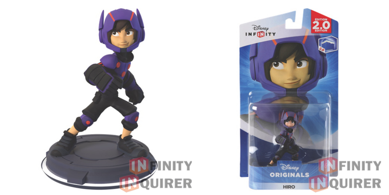Illustration for article titled Here Are The Disney Infinity Baymax and Hiro Figures
