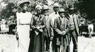 Official Juneteenth Committee in Austin, Texas, June 19, 1900Courtesy of Austin History Center, Austin Public Library